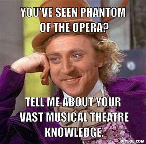 Opera Meme - 234 best phantom of the opera images on pinterest