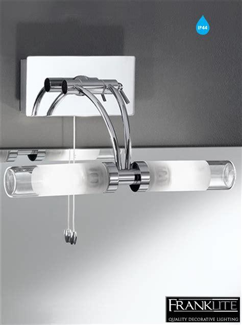 franklite wb976 chrome over mirror bathroom light at love4lighting franklite glass chrome over mirror ip44 rotating arm