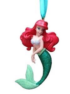 disney christmas ornament ariel the little mermaid