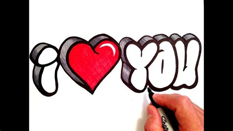 draw  love    bubble letters youtube