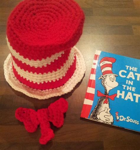 crochet pattern cat in the hat going to do this for trenton to wear next year for cat in