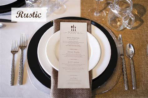 place setting ideas wedding place settings and table design ideas encore