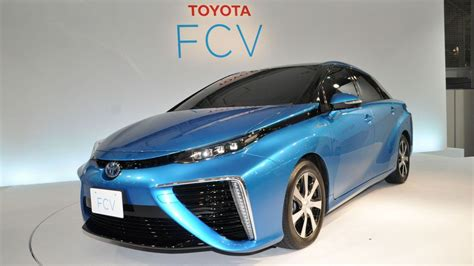Hydrogen Toyota Toyota Takes On Tesla With Its Hydrogen Fuel Cell Car