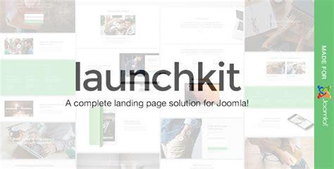 themeforest launchkit launchkit landing page marketing joomla template by erwin