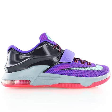 kickz basketball shoes nike kd 7 lilac bei kickz
