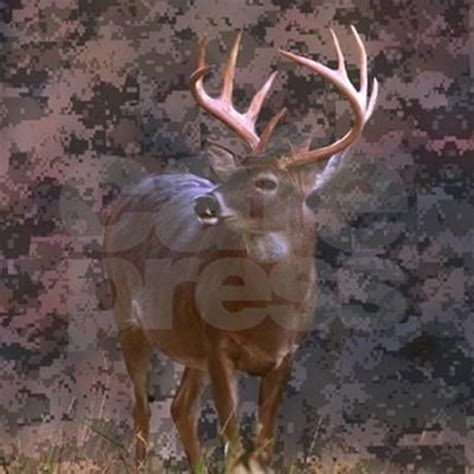 camouflage deer outdoor decor golf ball by listing store