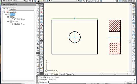tutorial autocad mechanical tutorial como cambiar la escala de la cifra acotado
