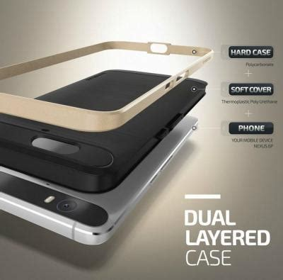 Hardcase Verus Hybrid Keren Frame Clear Tpu Cover Iphone 7 wts huawei nexus 6p tempered glass