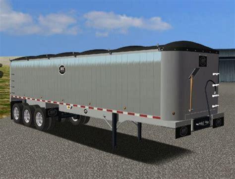18 wos haulin mods trailer smooth side rear dump for haulin simulator games mods