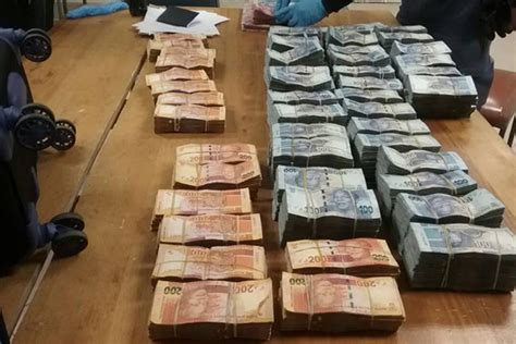 South Africa S Rich Cashing In by Two Arrested With Large Amount Of N1 Colesberg South Africa Today