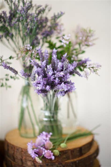 lavender wedding bouquets favors  centerpieces