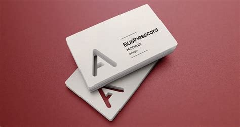 business card cut out template psd business card mock up vol23 psd mock up templates
