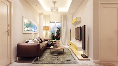 narrow living room stunningly beautiful modern apartments by koj design