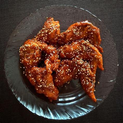 nida  nadhirah resepi korean spicy fried chicken
