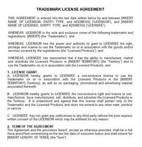 Manufacturing Agreement Template Free by Sle License Agreement Template 9 Free Documents In