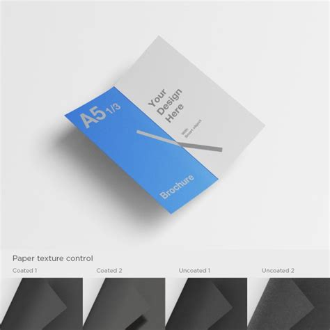 a5 brochure template psd file free download
