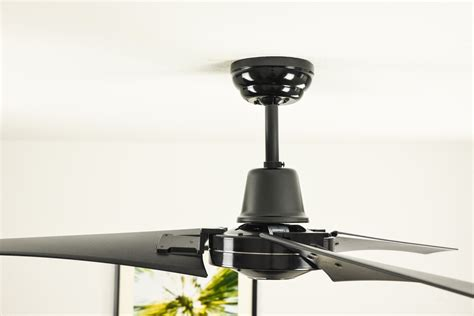black industrial ceiling fan industrial ceiling fan vourdries black with wall control