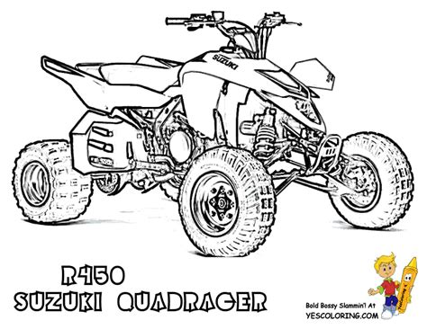 Four Wheeler Stunts Coloring Pages Coloring Pages Coloring Pages Four Wheeler