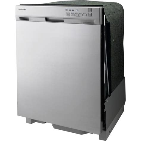 samsung dmt300rfs console dishwasher with 4 wash cycles racks 2 cup shelves 2