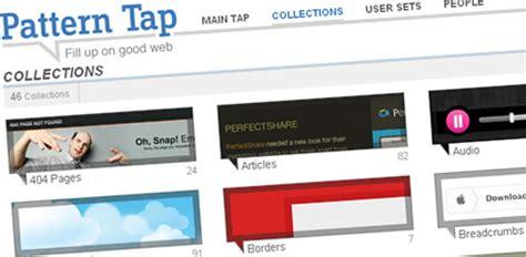 net tap pattern pattern tap risorse utili per creare blog e siti web