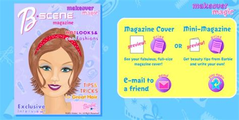 barbie design magazine game barbie magazine cover game