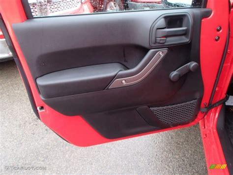 Jeep Yj Door Panels 2013 Jeep Wrangler Unlimited Sport 4x4 Door Panel Photos