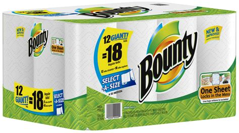 Who Makes Bounty Paper Towels - bounty paper towel 12 18 dovs by the dovs by the