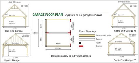 Draw My Own House Plans by Garages Kit Oak Frame Garage Kits Style Diy