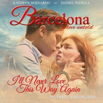 barcelona a love untold download the platinum ballad collection by gary valenciano album