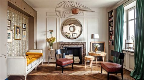 prewar apartment modern french decor inspiration