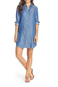 Tart collections jenine dress chambray from texas by red swagger