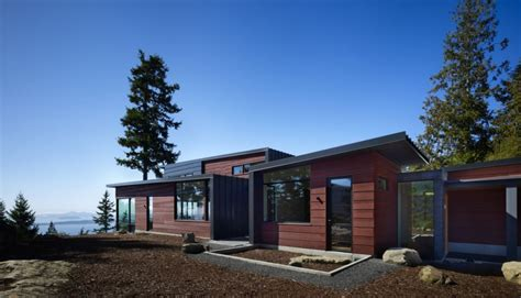casa cuck chuckanut ridge house por prentiss architects