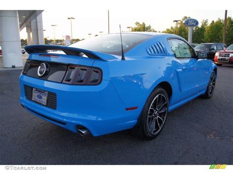 2013 grabber blue mustang gt grabber blue 2013 ford mustang gt premium coupe exterior