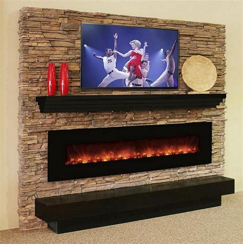 the 100clx electric fireplace in a living room with our