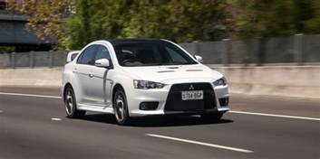 Lancer Mitsubishi 2016 Mitsubishi Lancer Evolution X Review Edition Caradvice