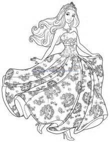 cartoon barbie coloring pages printable 229 larbilder barbie dockor barbie