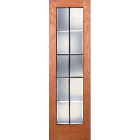 24 X 80 Pantry Door by Feather River Doors 24 In X 80 In Pantry Smooth 1 Lite Primed Mdf Interior Door Slab
