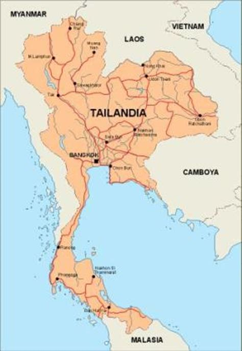 thailand map vector thailand vector maps as digital file purchase