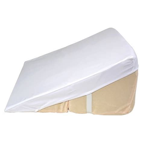 bed wedge pillow target contour products folding wedge cover beige 24 quot target