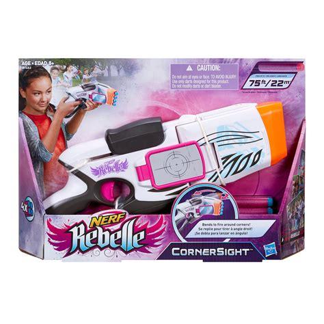 girls nerf rebelle star shoot blaster set preview amazon com nerf rebelle cornersight blaster toys games