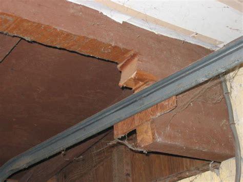 Home Owner Quot Cut Header Quot For Garage Door Opener Garage Door Support Beam