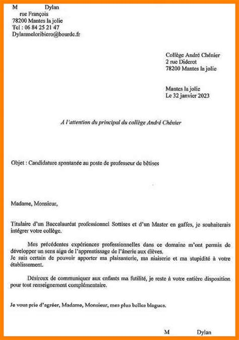 Ecole D Lettre De Motivation 4 Lettre De Motivation 233 Cole D Cv Vendeuse
