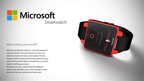 Smartwatch Microsoft microsoft smartwatch unser konzept zur windows uhr