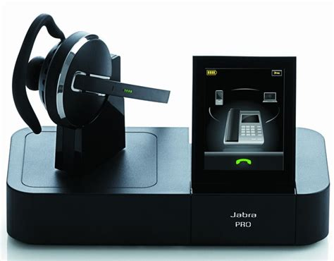 Jabra Cell Phone Station by Jabra Go 6400 And Pro 9400 Wireless Headsets With