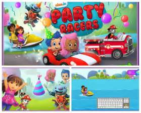 ready celebrate nick jr game party racers babyrazzi