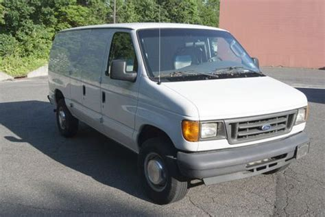 where to buy car manuals 2005 ford e250 lane departure warning buy used 2005 ford e 250 std cargo van no reserve e series e250 4 6l v8 2 door in fair lawn