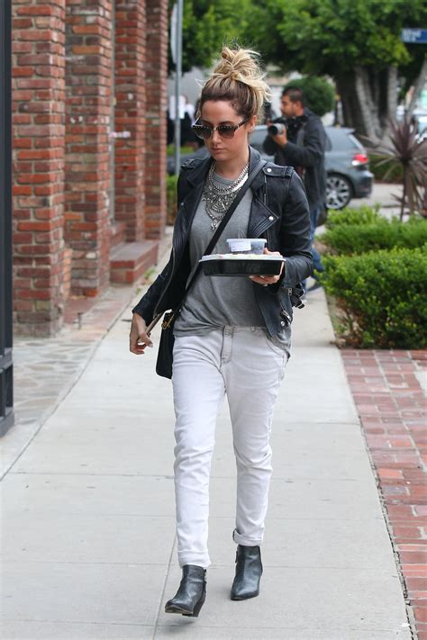 Look Chic While Grocery Shopping by Tisdale 2015 Photos Style