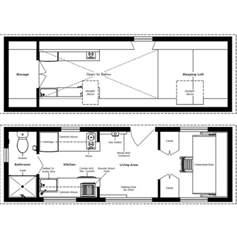 Small House Floor Plans With Loft The Turtle Tiny House A Tiny House With A Bedroom