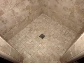 Mosaic Tile Shower Floor by Custom Bathroom Remodeling