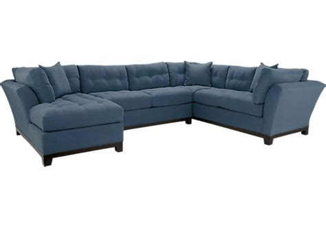 Rooms To Go Metropolis Sectional by Metropolis Indigo 3pc Sectional Living